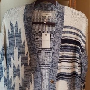 NWT Lucky Brand Long Sweater